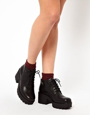 Image 3 of Vagabond Dioon Lace Up Ankle Boots