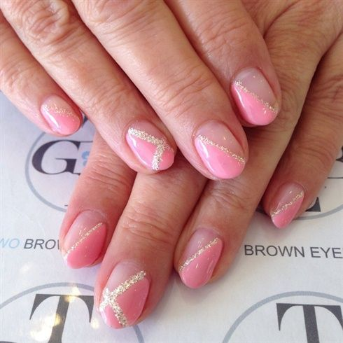 hottest free of charge nail art glitter line ideas with