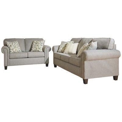 Best Alandari Sofa Gray Signature Design By Ashley In 2019 400 x 300