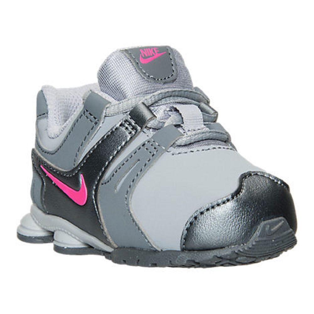 e38e531e20df12 Baby Girls Shoes Girls Toddler Nike Shox Current Running Shoes Size 10 NIB   Nike  Athletic