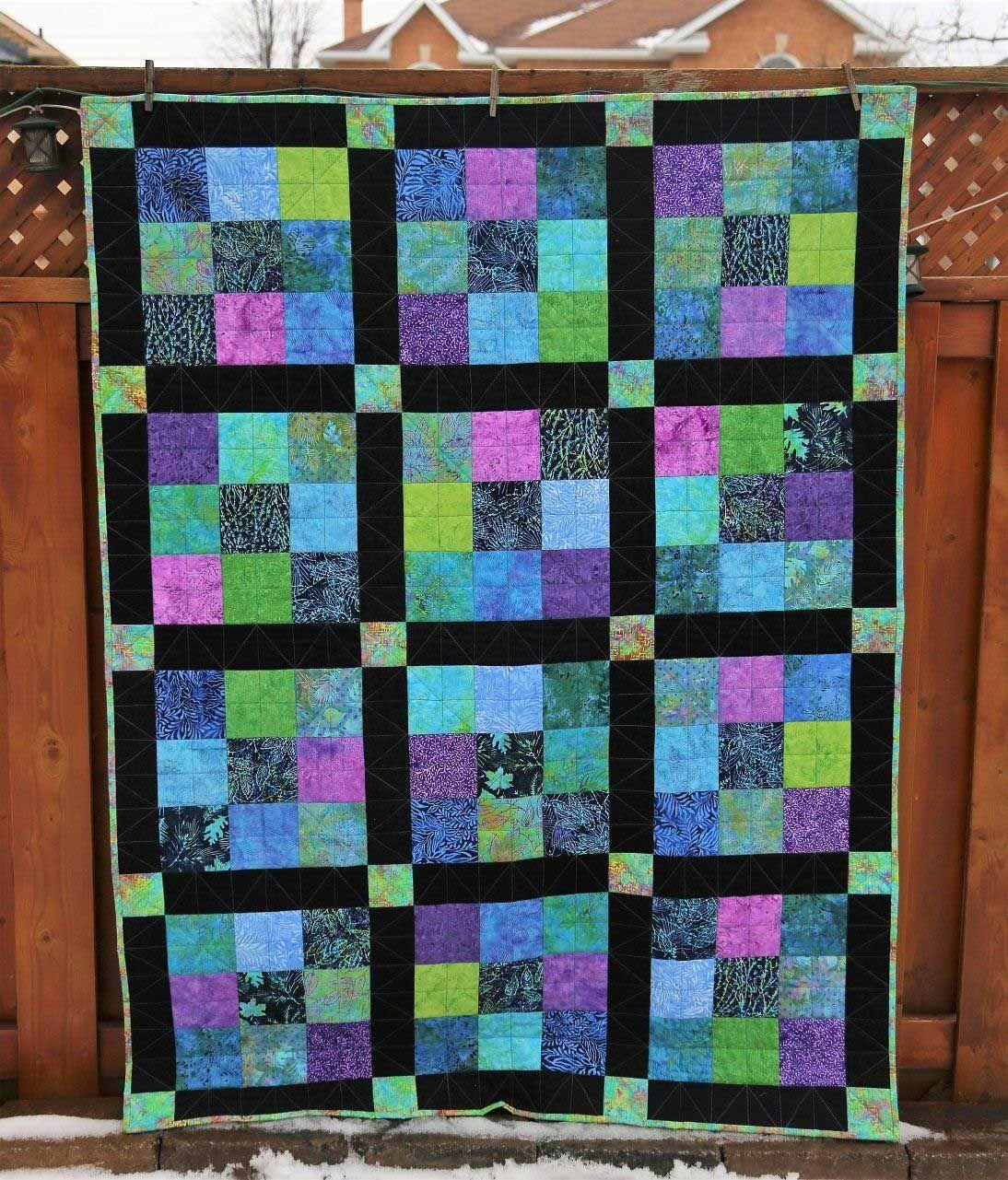 Jewel Tones Batik Quilts Ideas 06 From 14 Inspirational