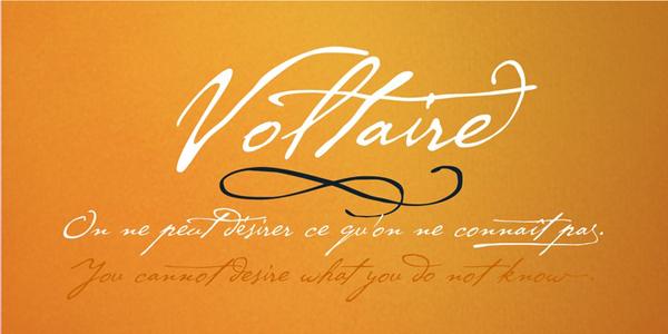 Cezanne Font sample