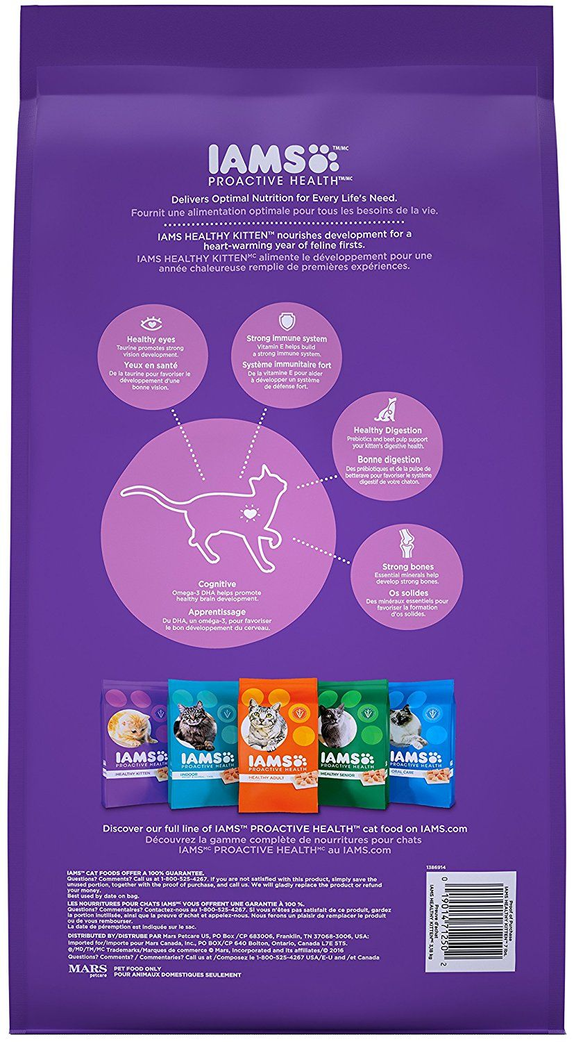 Iams Proactive Health Kitten Dry Cat Food Click On The Image For Additional Details This Is An Affiliate Link Presentsforcats Dry Cat Food Cat Food Iams