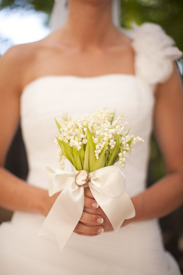 lovely lily of the valley bouquet