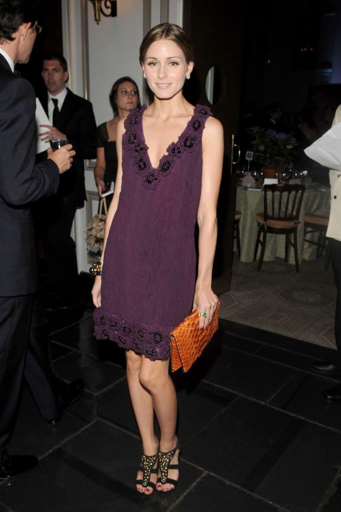 Pin de Megan DeAngelis en Olivia Palermo | Pinterest | Vestido ancho ...