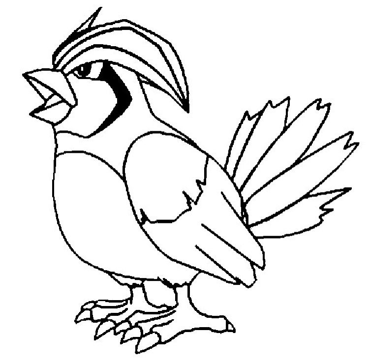 Pokemon Coloring Pages Pidgeotto In 2019 Pokemon Coloring