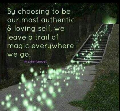 Be the most authentic & loving version of yourself