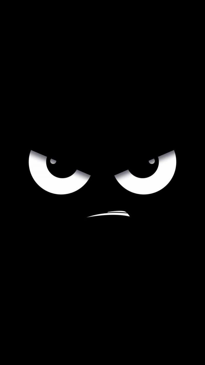 Angry Face IPhone Wallpaper - IPhone Wallpapers