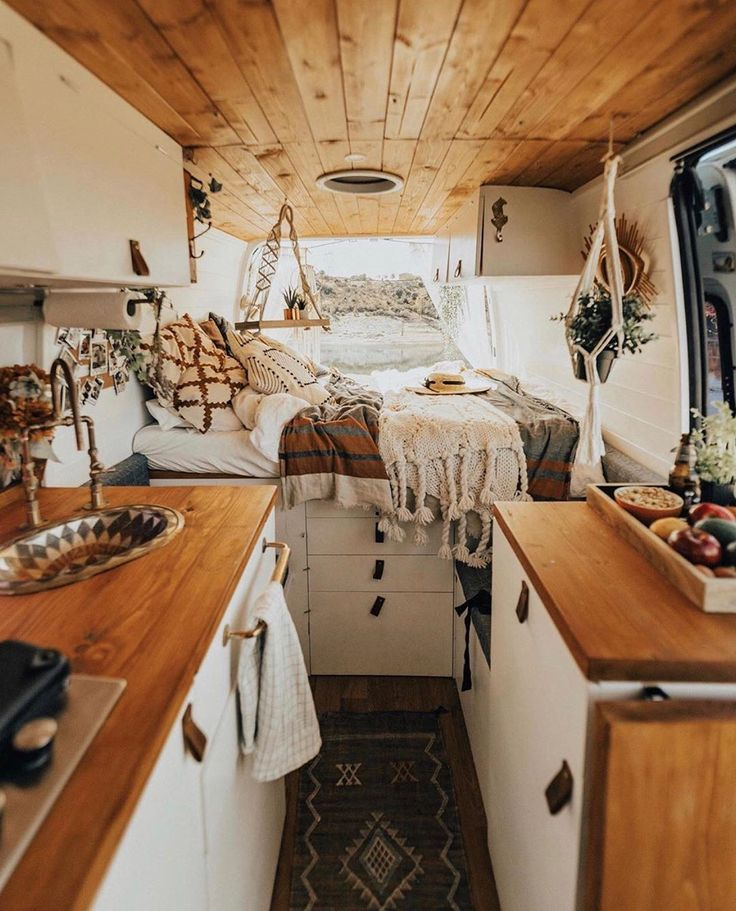 Is It Just Me Or Is Anyone Else Emotionally Attached To Their Dining Table Caravan Interior Caravan Renovation Caravan Renovation Diy