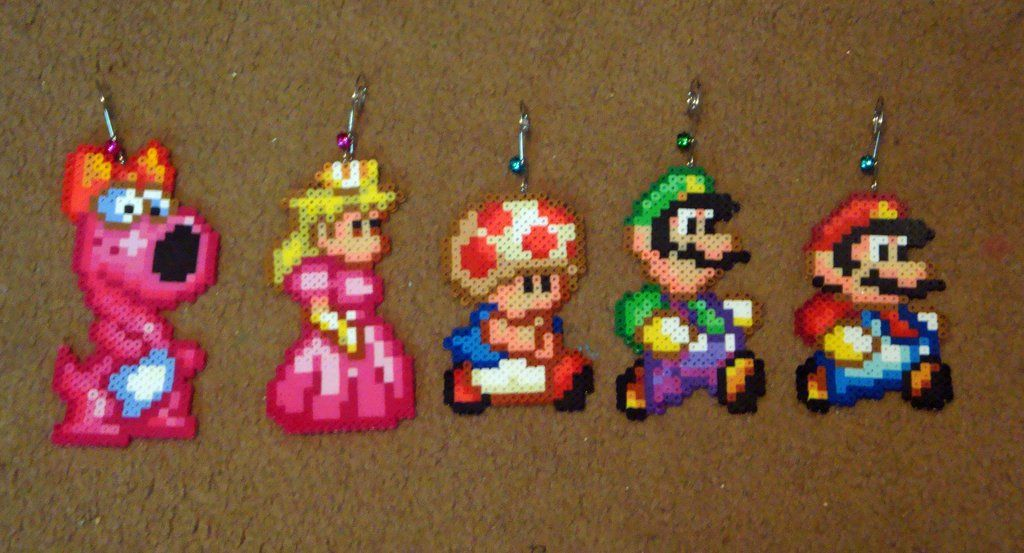 Perler Super Mario Bros 2 All Stars Collection By Pika Robo On