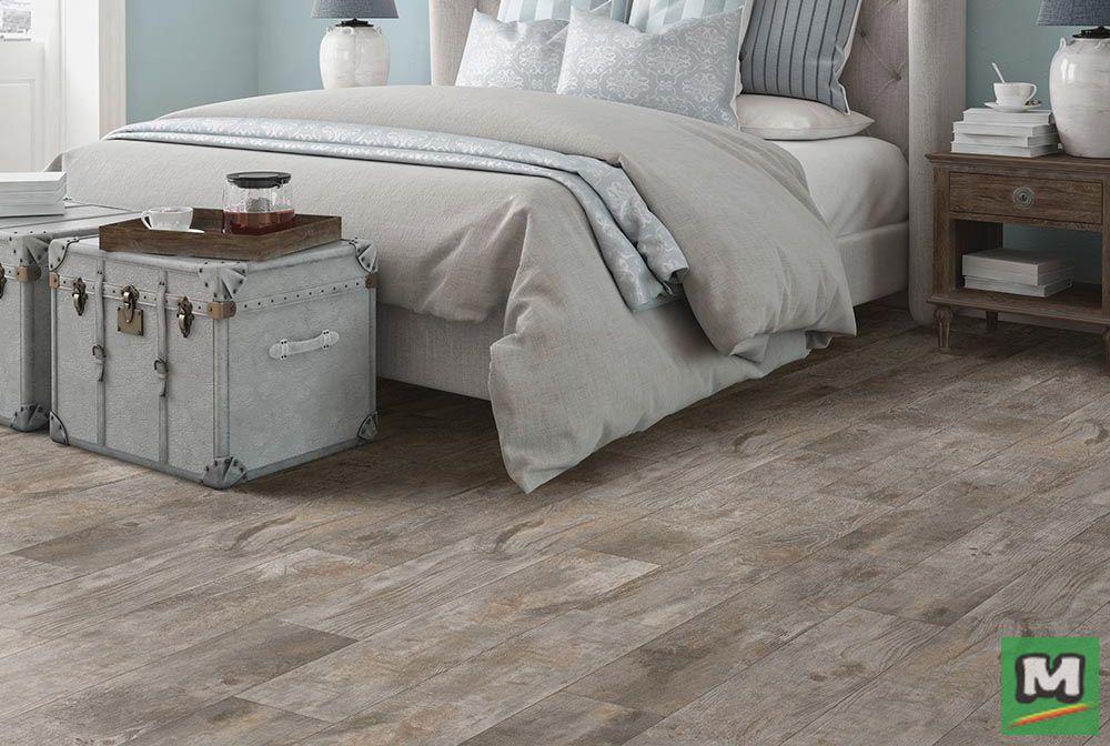 Mohawk® Home Expressions Cool Gray vinyl plank flooring