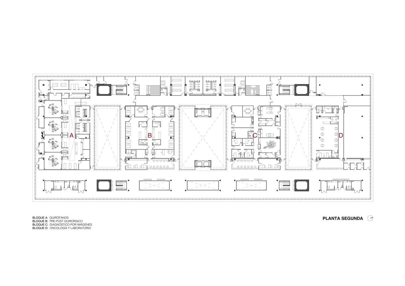 Galeria De Cemafe Centro De Especialidades Medicas Ambulatorias De Santa Fe Mario Corea Arquitectura Unidad De Proyectos Especiales Del Gobierno De Santa Especialidades Medicas Santa Fe Medicos
