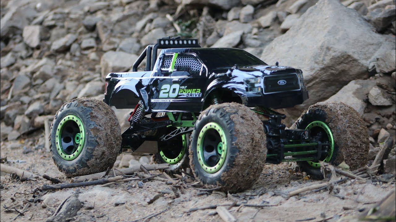 cansada monstruo Desafortunadamente  Rock Crawler 4x4 RC Trucks / Carro control remoto todo terreno 4x4 / RC  Crawler OFFRoad 4x4 - YouTube | Camion monstruo, Rc crawler, Camiones rc