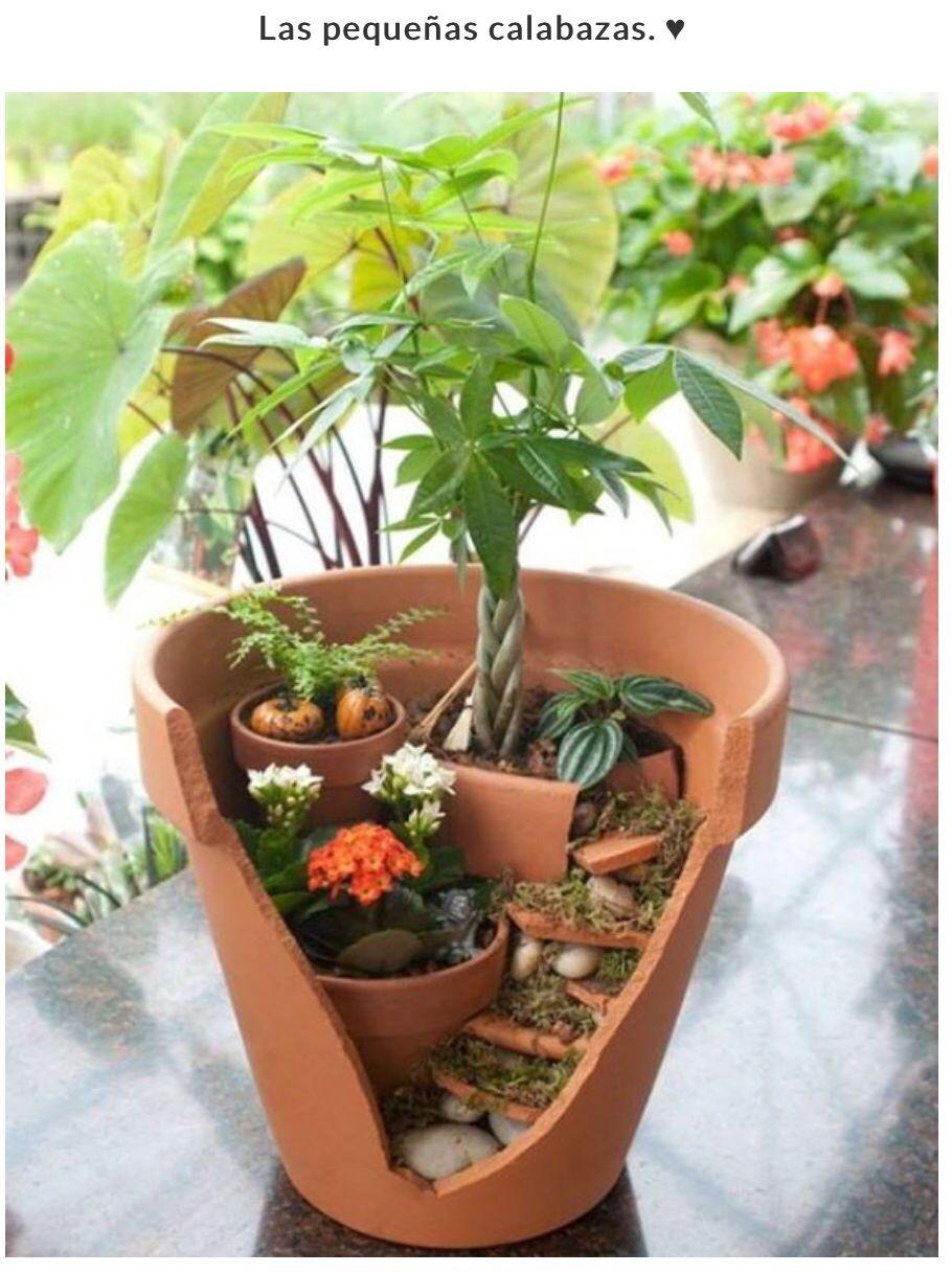 Una Dos Tres Macetas En Una Flores Y Arreglos Quiero Hacer  ~ Macetas Originales Para El Jardin