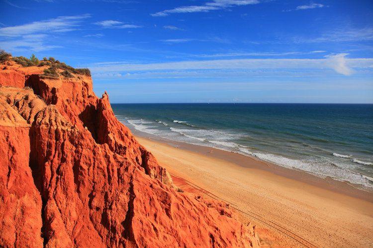 Portugal_La Praia da Falésia en Algarve
