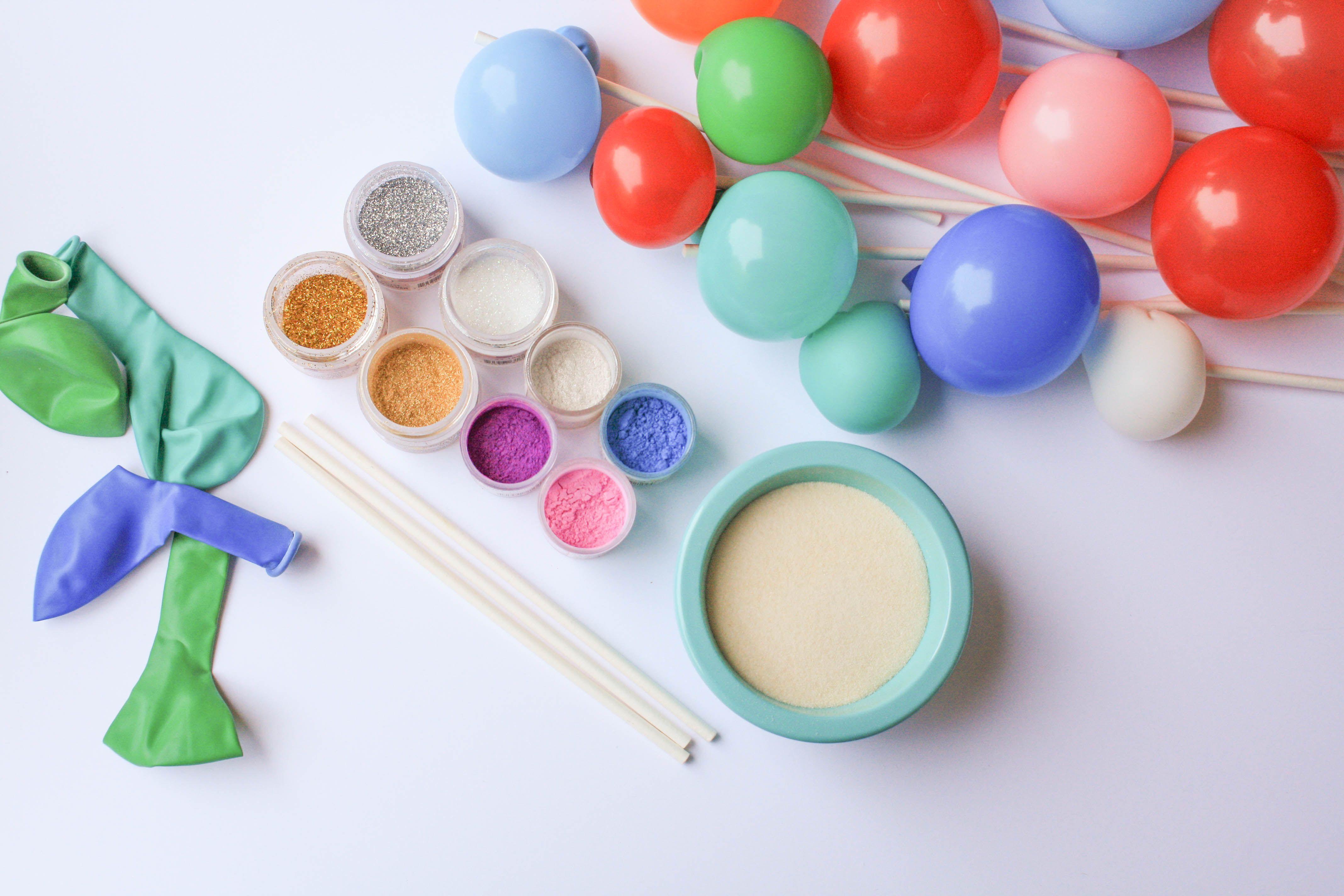 Express your creativity gelatin bubbles