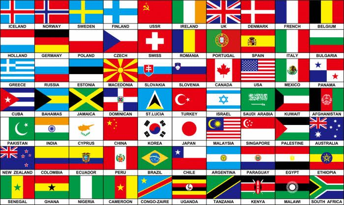 all country flags in the world translation pinterest flags