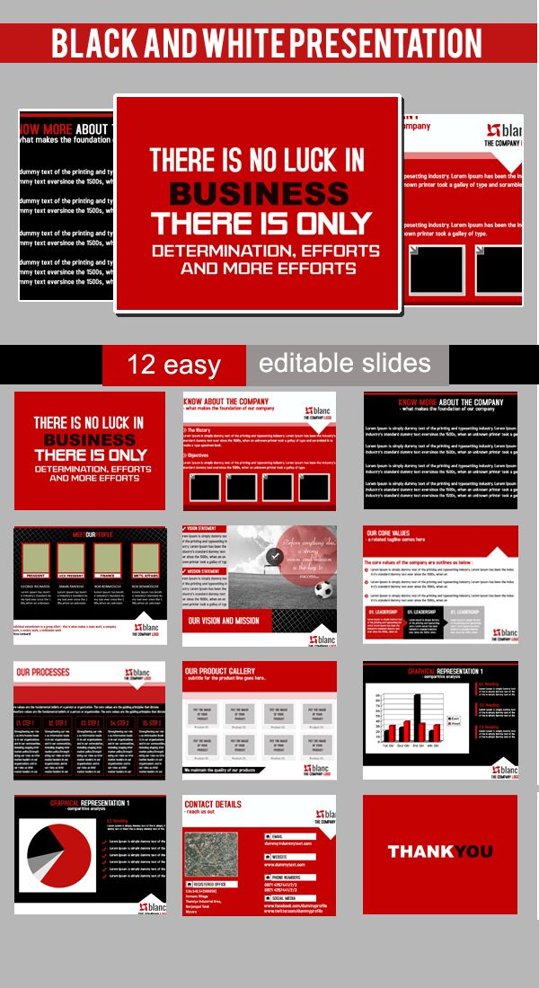 A professional powerpoint template Use it for company presentation - program proposal template