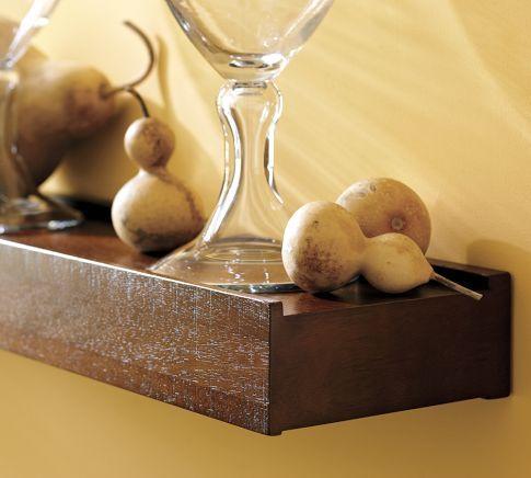 Rustic Wood Shelf | Pottery Barn