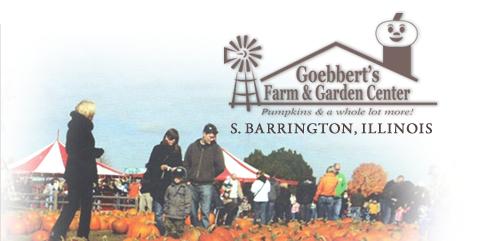 Goebbert's Pumpkin Patch and Farm Home Farm gardens