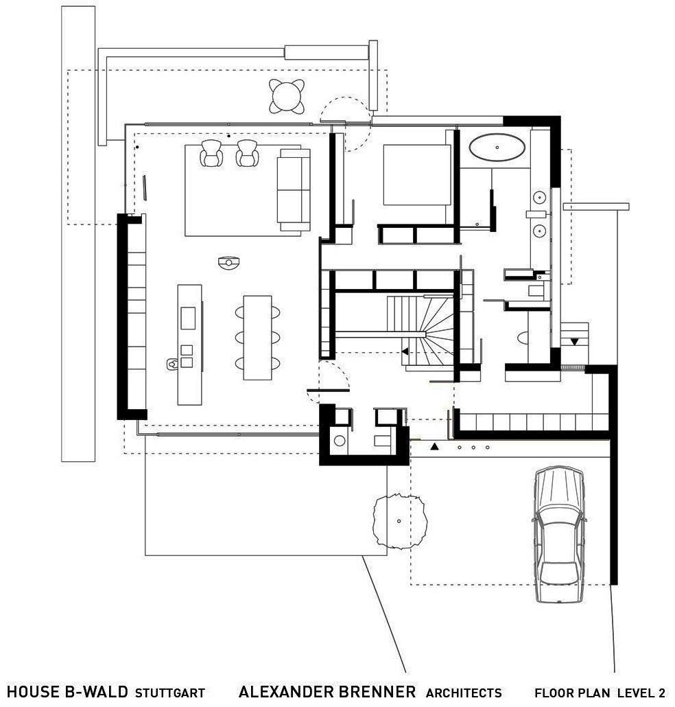 house b wald by alexander brenner architekten houses pinterest. Black Bedroom Furniture Sets. Home Design Ideas