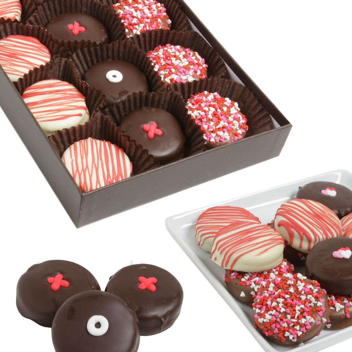 Love Xox Choc Dipped Oreos Valentines Day Pinterest Oreos