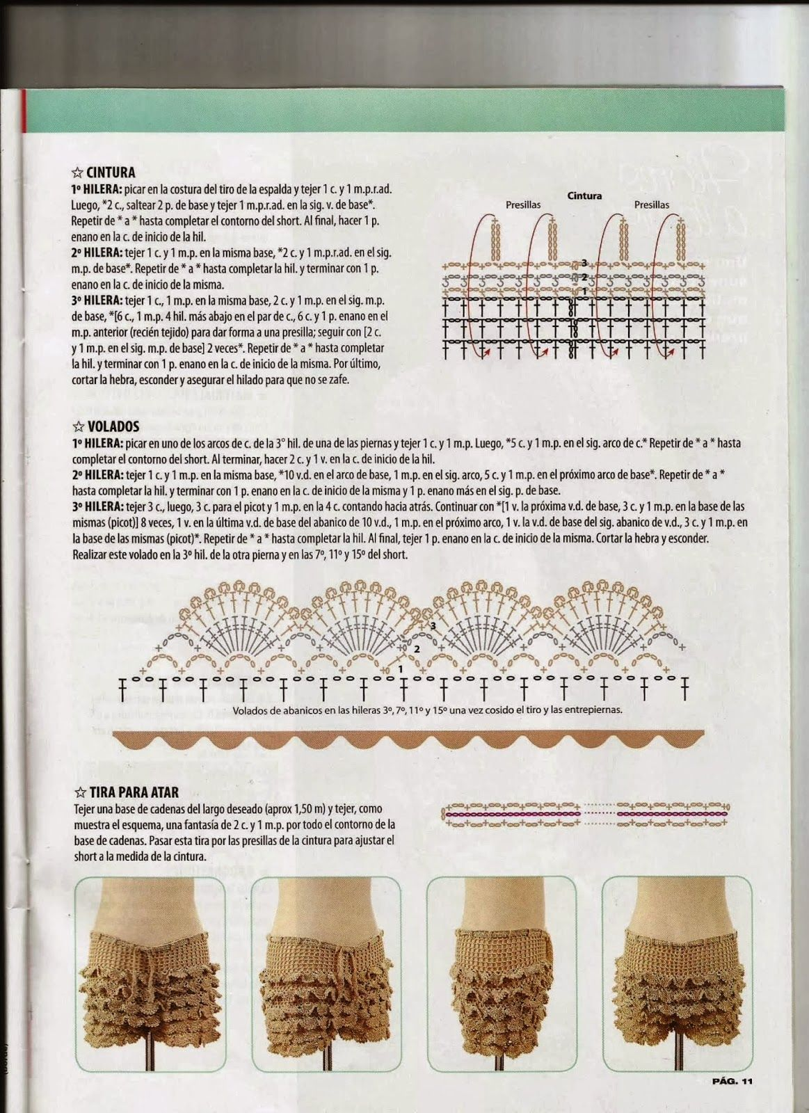 Marisabel crochet | SHORTS | Pinterest | Ganchillo, Verano y Vestiditos