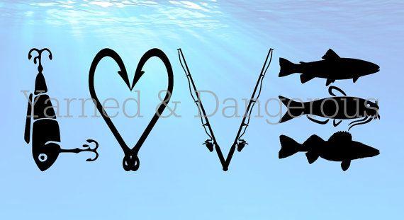 Download Fishing Love Svg Png Fishing Decals Monogram Fishing Shirt Fishing Svg