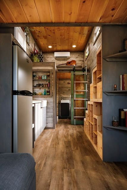 from habeo tiny homes a beautifully designed tiny house with a modernrustic look - Beautifully Designed Homes