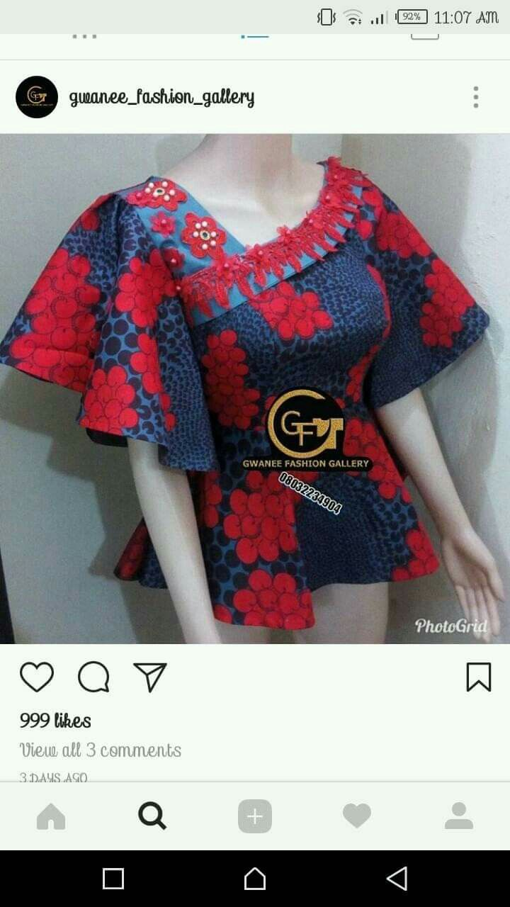 Ankara Style Latest African Fashion Dresses African Fashion