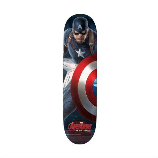Captain America Character Art Skateboard Captain America Characters Character Art Captain America