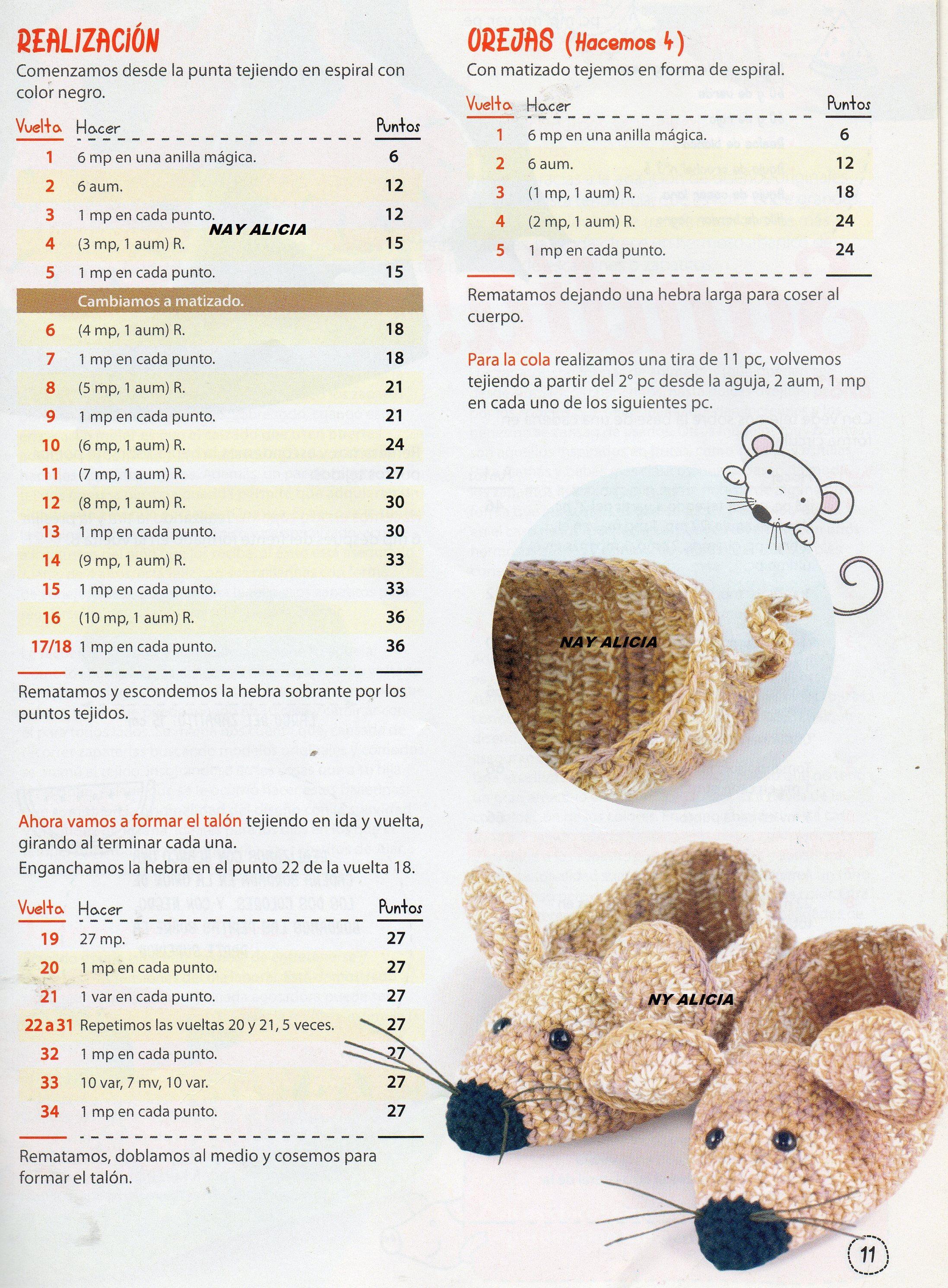 zapatitos ratoncitos | Zapatitos crochet | Pinterest | Zapatos ...