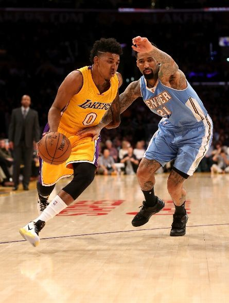 Denver Nuggets Vs Los Angeles Lakers Photos February 10 2015 Espn Los Angeles Lakers Denver Nuggets Lakers