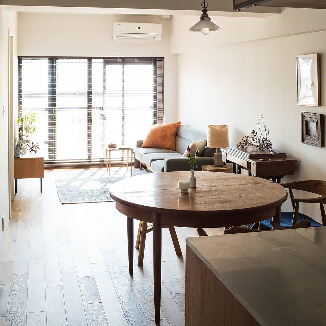 築40年でも快適に 家事がラクになる 動線 と 間取り のアイデア インテリア 家具 狭いリビング レイアウト ふたり暮らし インテリア
