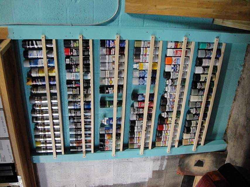 what to do with all those aerosol cans the garage. Black Bedroom Furniture Sets. Home Design Ideas