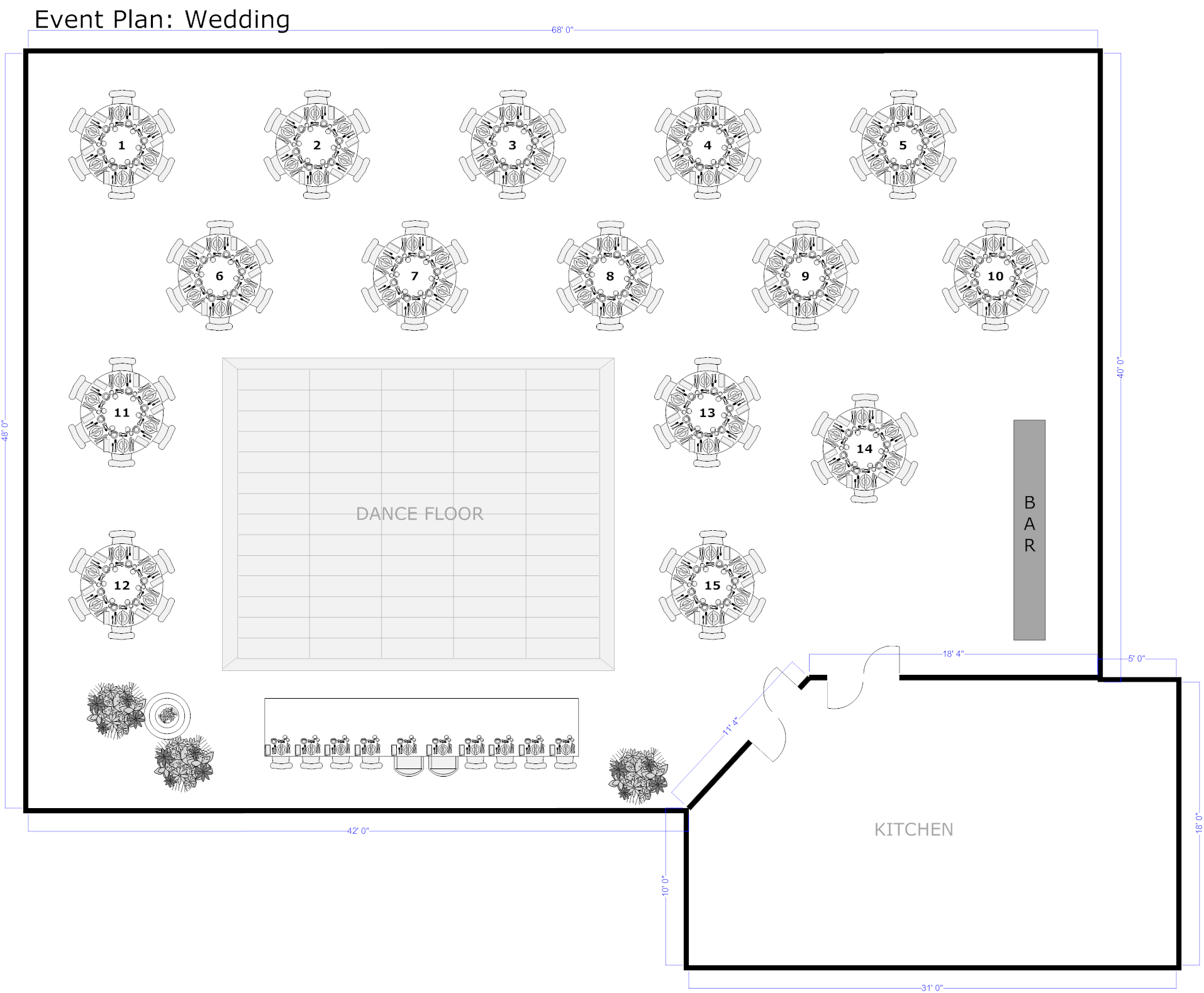 Event Planning Software Download Free For Easy Layout Event Plans Floor Plan Layout Wedding Floor Plan Floor Plan Creator