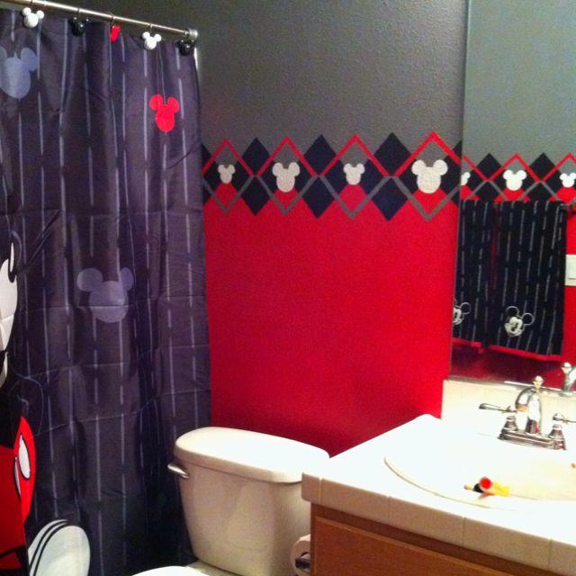 Disney Mickey Mouse Bathroom Decor: Mickey Mouse Bathroom