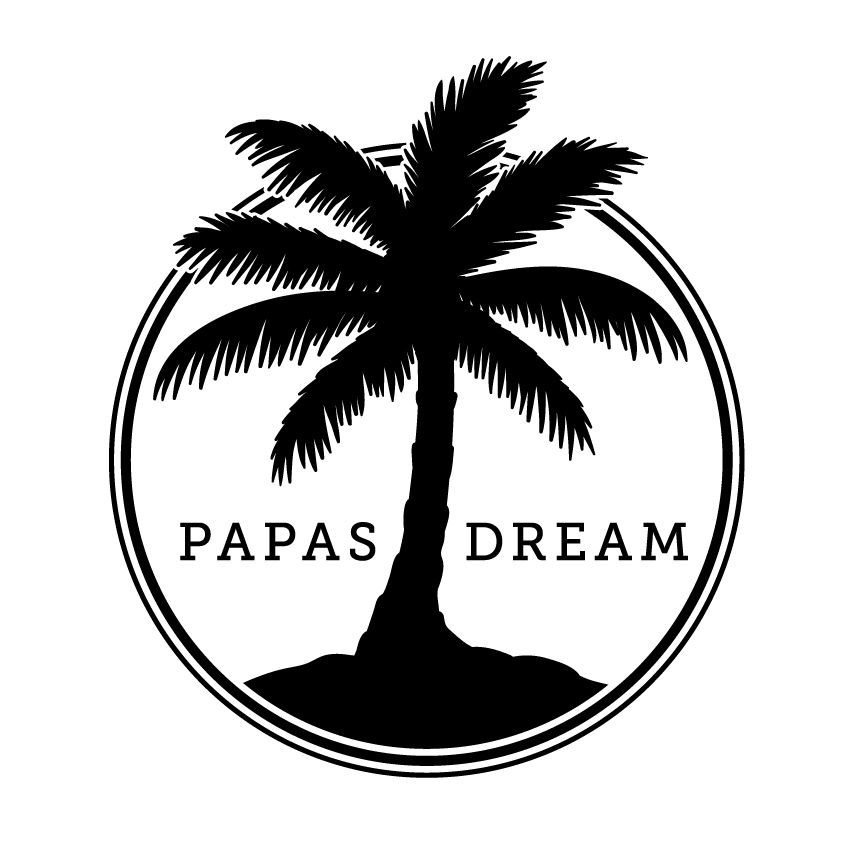 Papas Dream Logo Kiel Tillman Logo Design Logos Branding Palm Tree Black And White Jpg 850 850 Tree Logo Design Tree Logos Logo Design Art Search results for palm tree logo vectors. pinterest