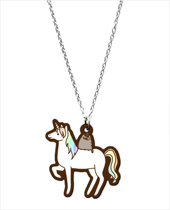 I found 'Hey Chickadee - SUPER Fancy Pusheen Necklace' on Wish, check it out!