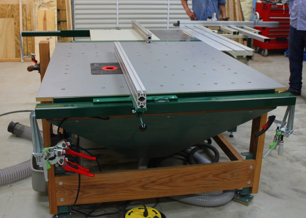 902 Downdraft Multi Function Router Table Outfeed Work Station