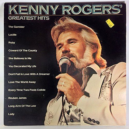 Kenny Rogers Greatest Hits Music Vinyl Records