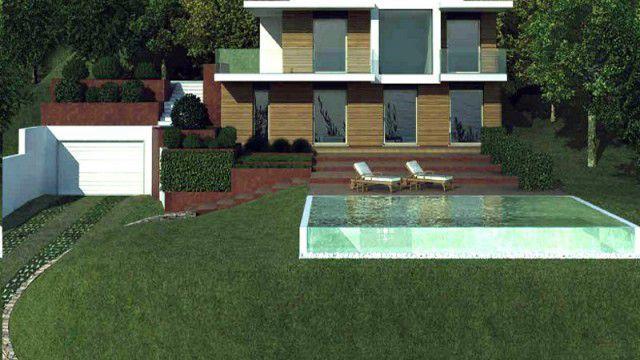 Padhenge Villa über dem Gardasee Italien  Landhäuser \ Villen - luxus landhuser