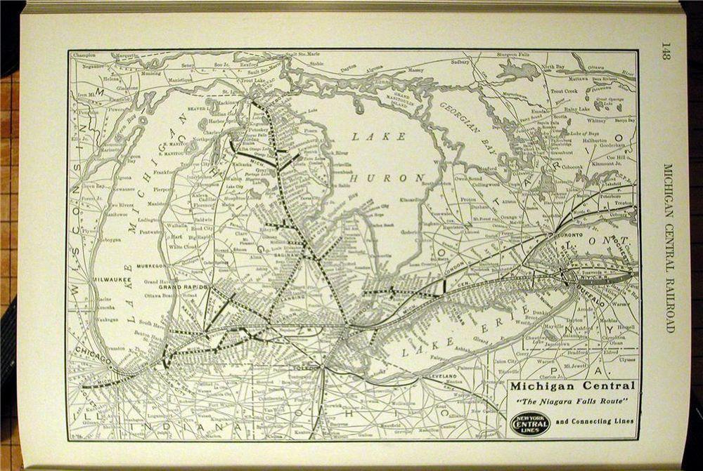 DATED 1924 MICHIGAN CENTRAL RAILROAD MC RR