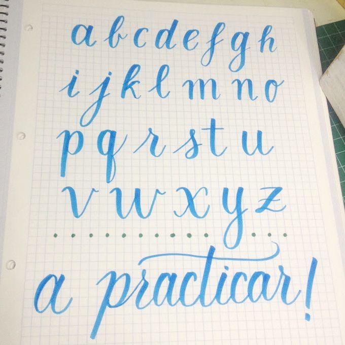 Aprender lettering, propósito bonitista | Propósito, Abecedario y ...