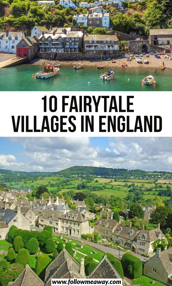 10 Pretty English Villages Out of a Fairytale - Follow Me Away #britishisles