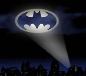 Batlight Shines On Line For Dark Knight >> Bat Signal Light Make It Flow In The Dark And Pain On Ceiling