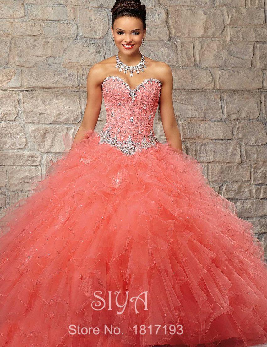 8ca475346 Encontrar Más Vestidos de Quinceañera Información acerca de Vestido para 15  años Debutante Vestido de quinceañera dulces 16 bolas Vestido de encaje de  la ...