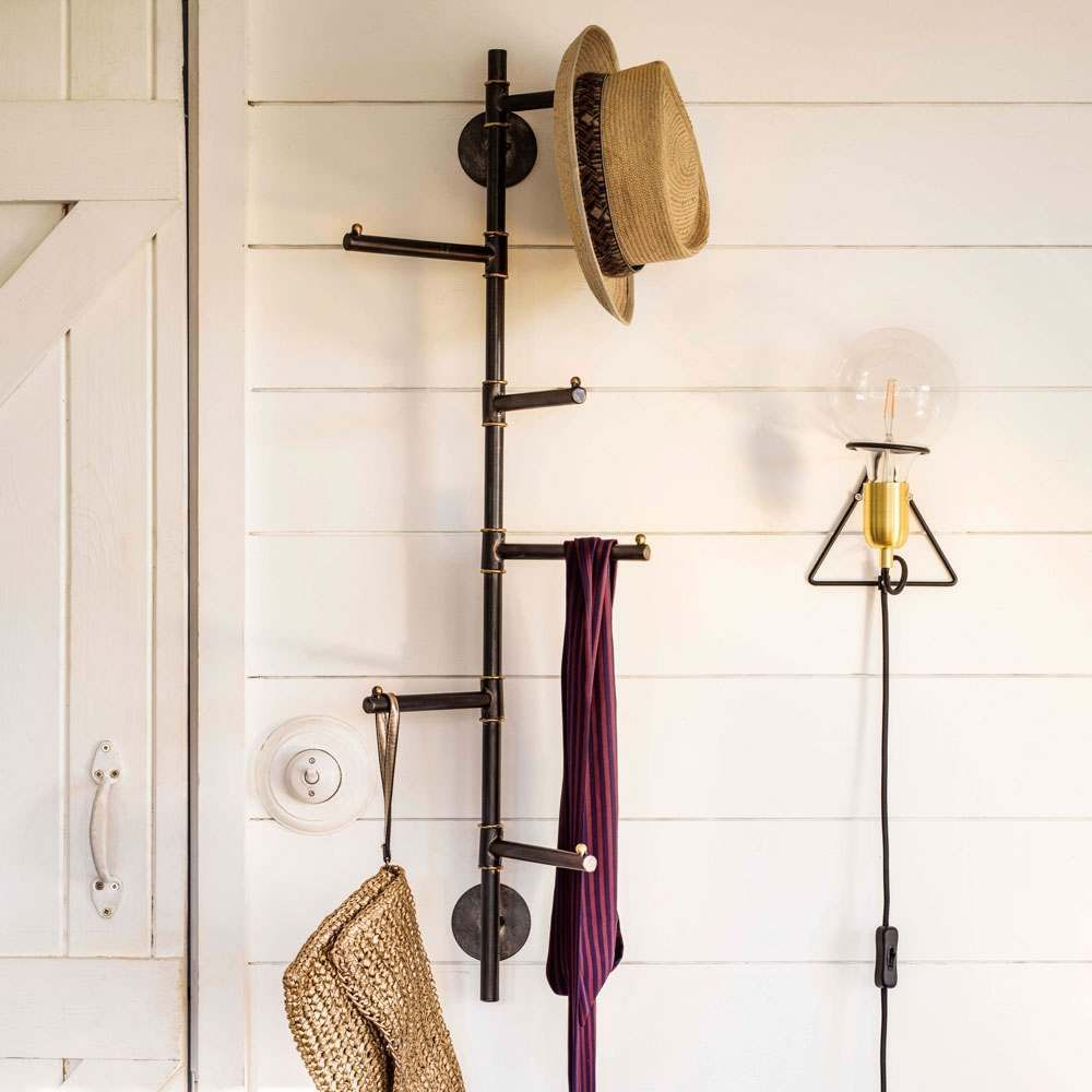 Vertical Six Prong Coat Rack View All New In New In New Arrivals Coat Rack Coat Rack Wall Wall Mounted Coat Rack