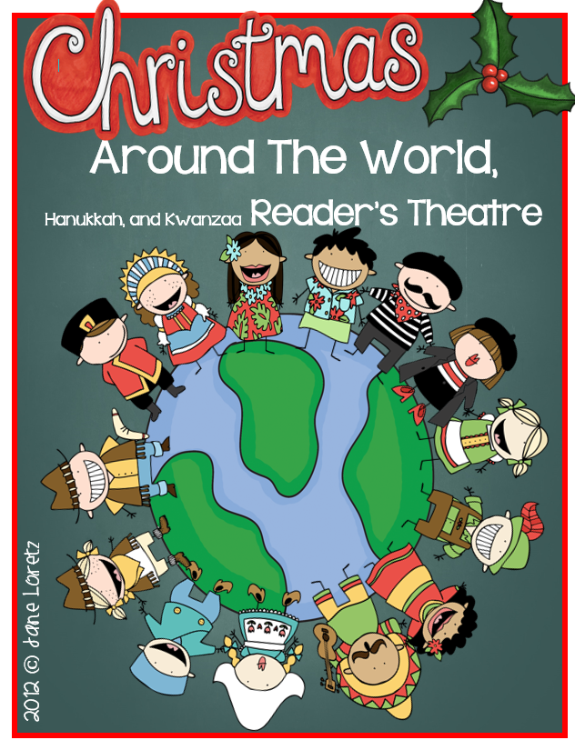 christmas around the world readers theater this has two reader parts for 11 different countries along with parts for kwanzaa and hanukkah