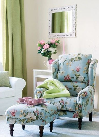 Floral Living Room Chairs | TABLE AND CHAIRS | Decor, Home goods ...